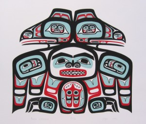 John Hagan, Raven Tribal House Front