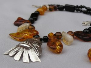 Raven Revealed Trade Bead Necklace