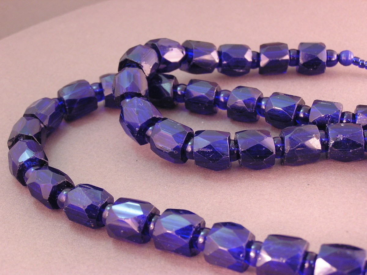 Russian Blue Chief Trade Beads Active Artist Network