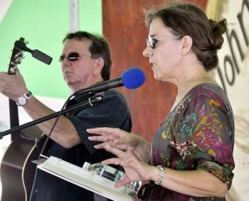 Mike Adams & Kate Benzel Credit: Fremont Tribune