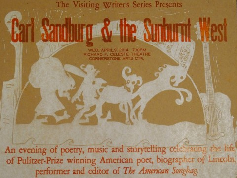 Prayers for the People:Carl Sandburg and the Sunburnt West, Colorado College -  2014