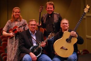 The Sandtones: Cristina Seaborn - Fiddle; Mike Adams- Guitar; Mike Metzger - Mandolin; Terry Sinnard - Bass